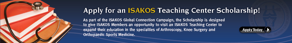 ISAKOS Teaching Center Scholarship Application