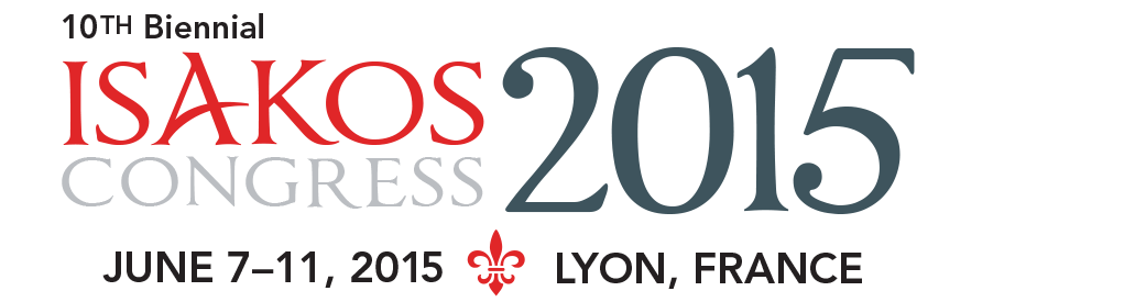 ISAKOS: 2015 Congress in Lyon, France