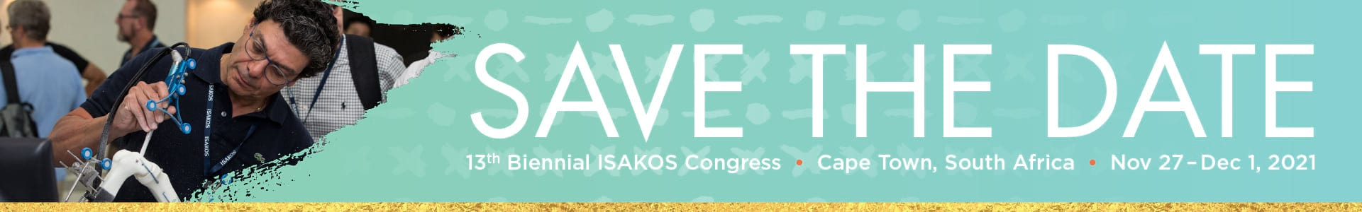 2021 ISAKOS Congress: Cape Town, South Africa