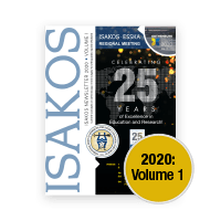 ISAKOS Newsletter 2020 Volume I